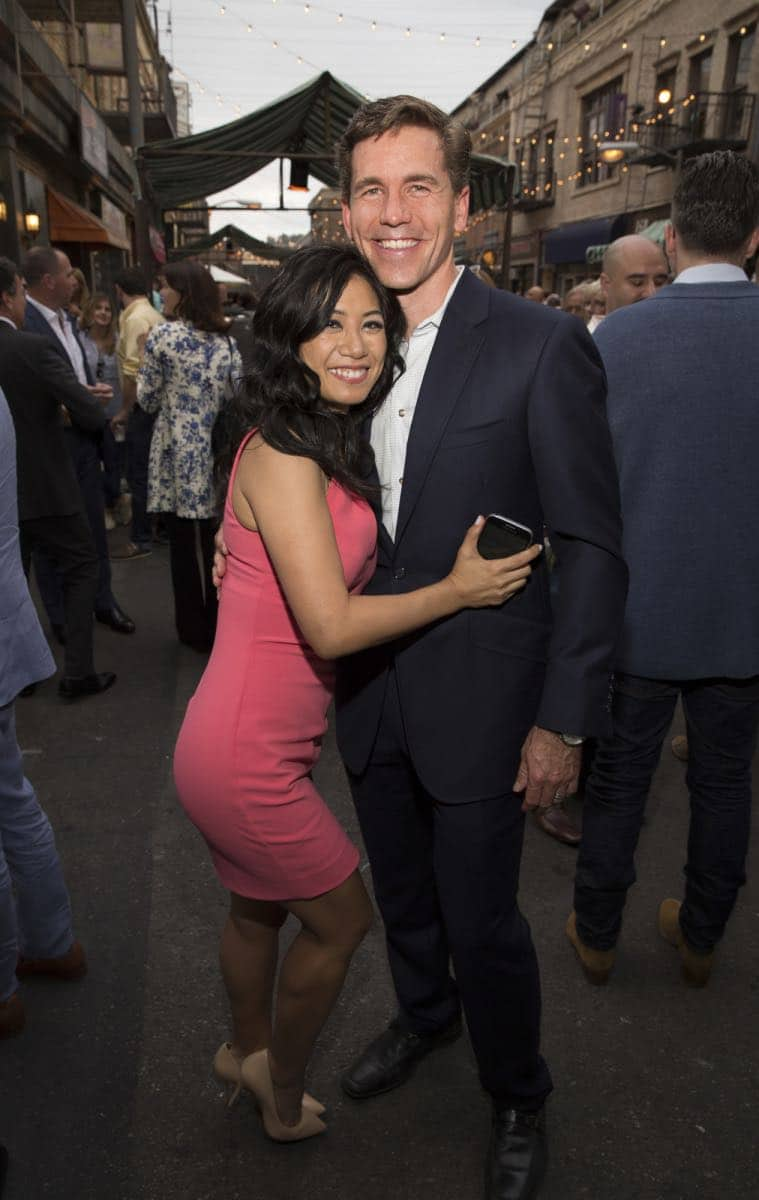 Liza Lapira and Brian Dietzen at the CBS Summer Soirée for the annual TCA press tour, held on August 1, 2017 in Los Angeles, CA. Photo: Jon Endow/CBS ©2017 Broadcasting Inc. All Rights Reserved