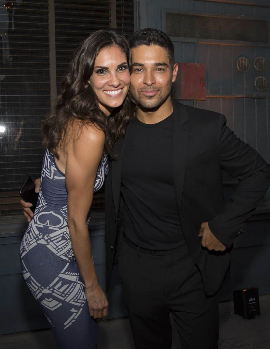 Daniela Ruah and Wilmer Valderrama at the CBS Summer Soirée for the annual TCA press tour, held on August 1, 2017 in Los Angeles, CA. Photo: Jon Endow/CBS ©2017 Broadcasting Inc. All Rights Reserved