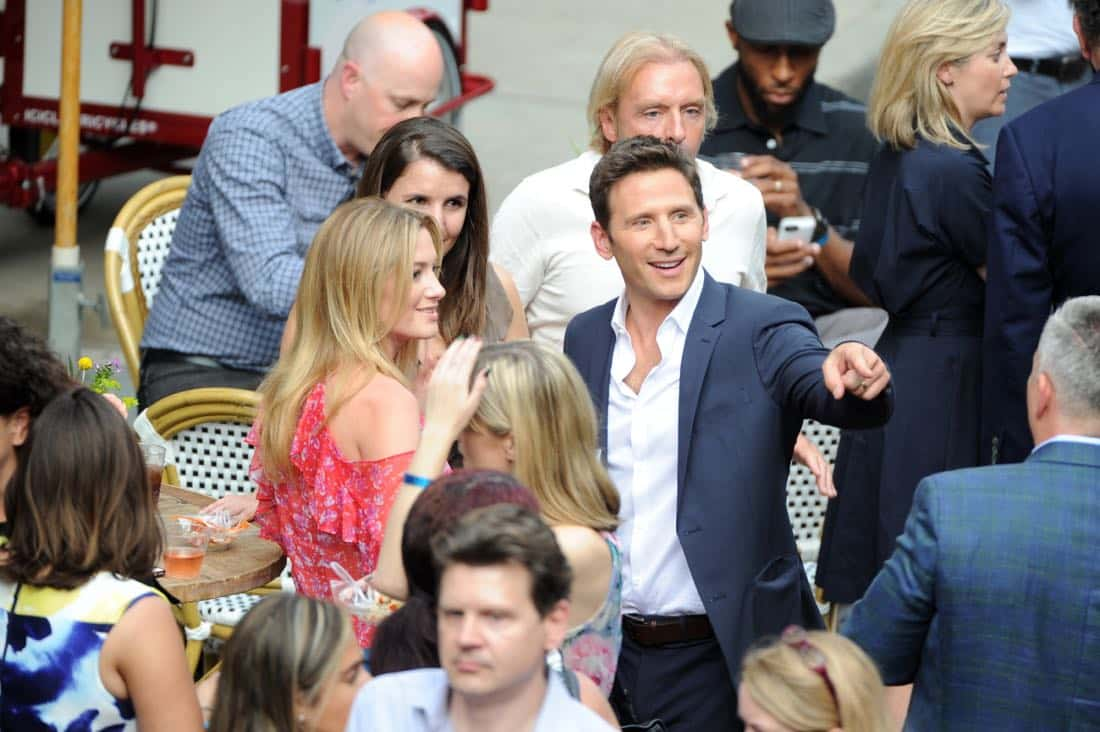 Mark Feuerstein of 9JKL at the CBS Summer Soirée, held on August 1, 2017 in Los Angeles, CA. Photo: Johnny Vy/CBS ©2017 Broadcasting Inc. All Rights Reserved