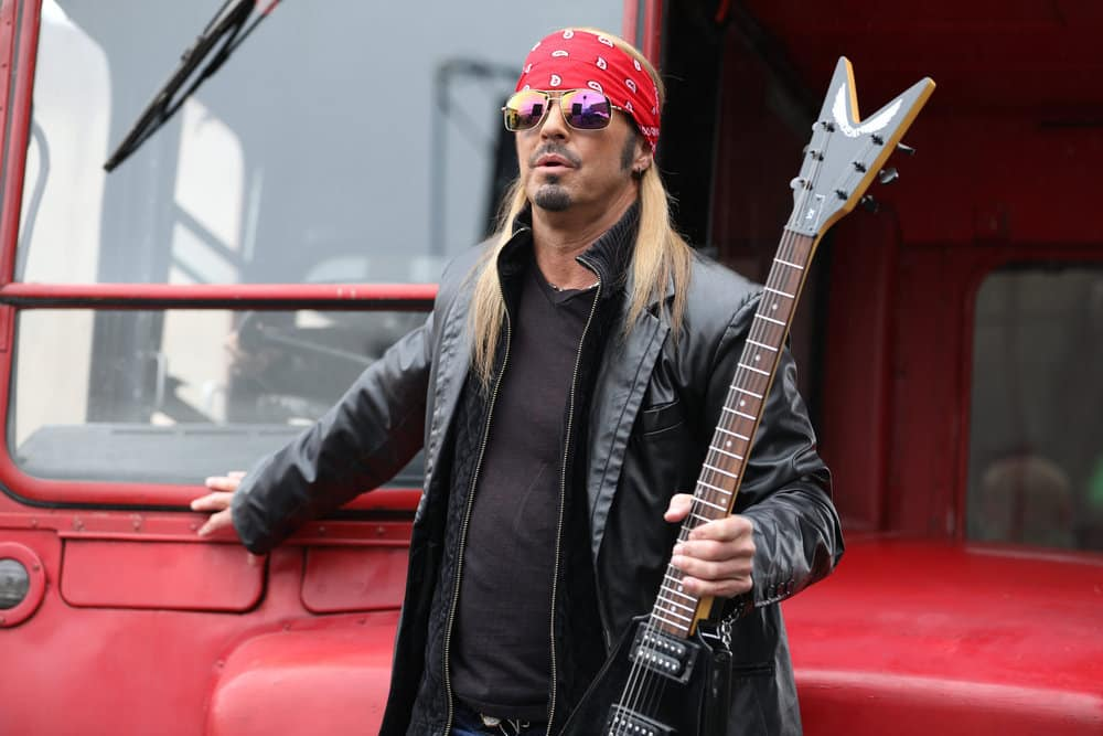 SHARKNADO 5: GLOBAL SWARMING -- Pictured: Bret Michaels as Himself -- (Photo by: Jon Jones/Acme Holding Company/Syfy)
