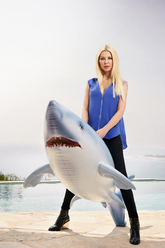 SHARKNADO 5 -- Season:2017 -- Pictured: Tara Reid as April Shepard -- (Photo by: Justin Stephens/Syfy)