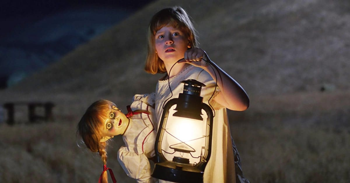 "ANNABELLE: CREATION Copyright: © 2017 WARNER BROS. ENTERTAINMENT INC. AND RATPAC-DUNE ENTERTAINMENT LLC Photo Credit: Courtesy of Warner Bros. Pictures Caption: LULU WILSON as Linda in New Line Cinema's supernatural thriller ""ANNABELLE: CREATION,"" a Warner Bros. Pictures release."