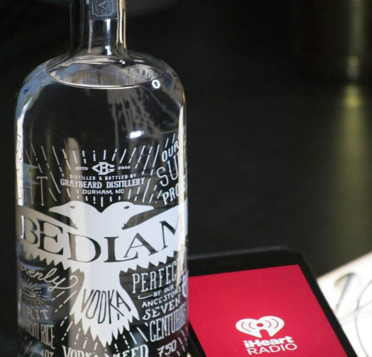 Bedlam Vodka and iHeartMedia partner to announce the Bedlam Vodka Sound Studios