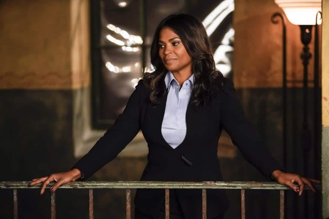 """Party Crashers"" -- Pictured: Nia Long (Executive Assistant Director Shay Mosley). After Hetty turns in retirement papers and then disappears, Executive Assistant Director Shay Mosley (Nia Long) arrives in Los Angeles to oversee the team and immediately makes staffing changes. Also, still mourning the death of his wife and living in a trailer on the beach, Sam is adamant that Callen find a new partner, on the ninth season premiere of NCIS: LOS ANGELES, Sunday, Oct. 1 (9:30-10:30 PM, ET/PT) on the CBS Television Network. Photo: Erik Voake/CBS ©2017 CBS Broadcasting, Inc. All Rights Reserved."