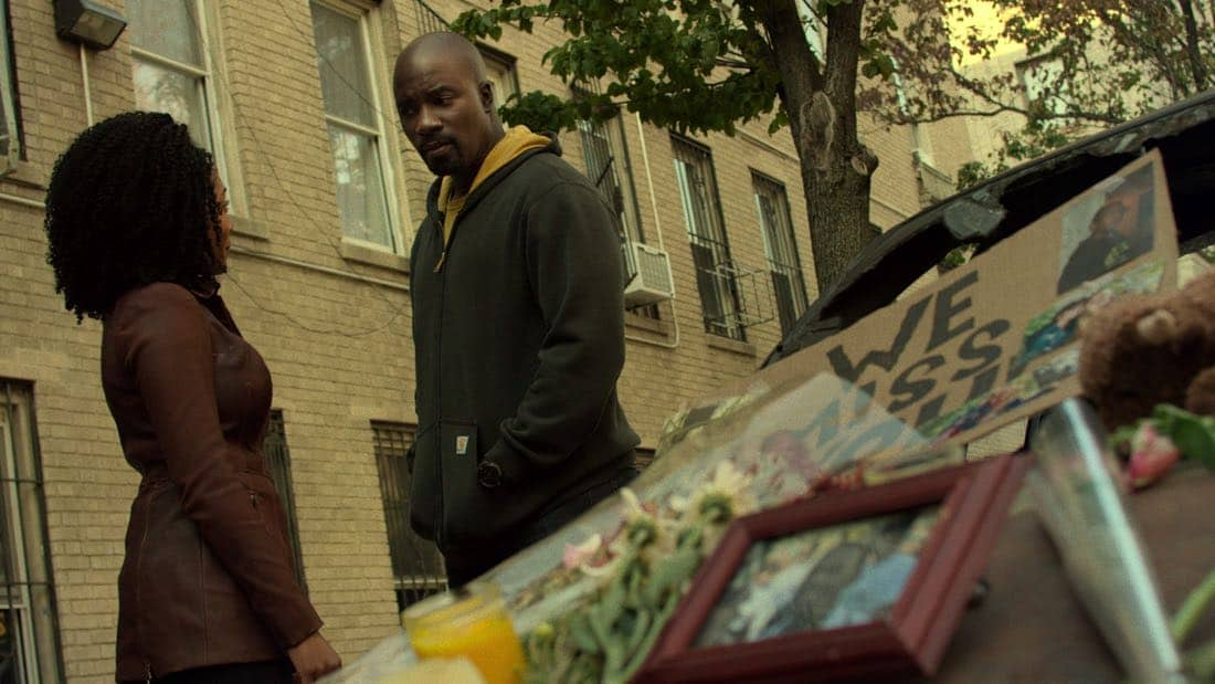 Marvel's The Defenders Episode 1 The H Word - Mike Colter, Simone Missick