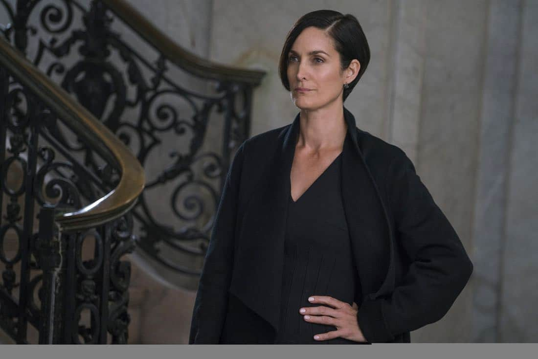 Marvel's The Defenders Episode 2 Mean Right Hook Carrie-Anne Moss