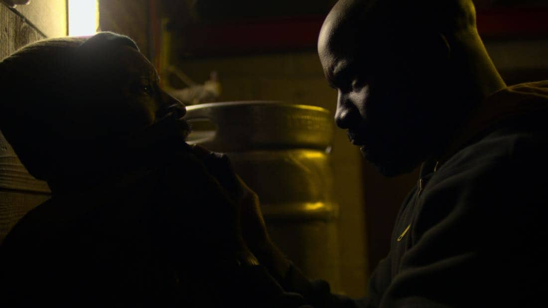 Marvel's The Defenders Episode 2 Mean Right Hook Rob Morgan, Mike Colter