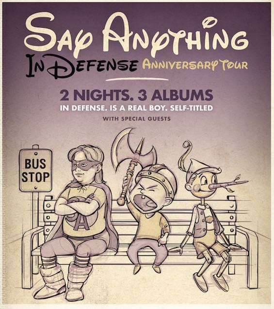 Say Anything Tour Poster