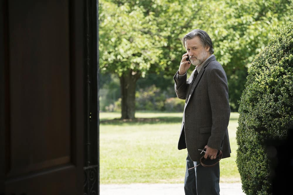 "THE SINNER -- ""Part VI"" Episode 106 -- Pictured: Bill Pullman as Harry Ambrose -- (Photo by: Peter Kramer/USA Network)"