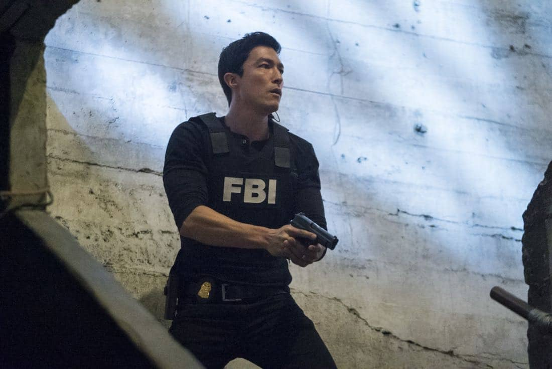 """Wheels Up"" -- Agent Matt Simmons joins the BAU team in a race to take down Mr. Scratch and, in the process, save one of their own, on the 13th season premiere of CRIMINAL MINDS, Sept. 27, 2017, at a new time (10:00-11:00 PM, ET/PT) on the CBS Television Network. Daniel Henney joins the cast as Matt Simmons, an ex-Delta soldier and former International Response Team member. Pictured: Daniel Henney (Matt Simmons) Photo: Sonja Flemming/CBS ©2017 CBS Broadcasting, Inc. All Rights Reserved"
