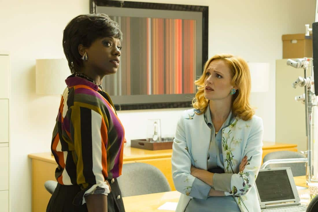 Kerry Bishe as Donna Emerson, Sasha Morfaw as Tanya Reese- Halt and Catch Fire _ Season 4, Episode 4 - Photo Credit: Bob Mahoney/AMC