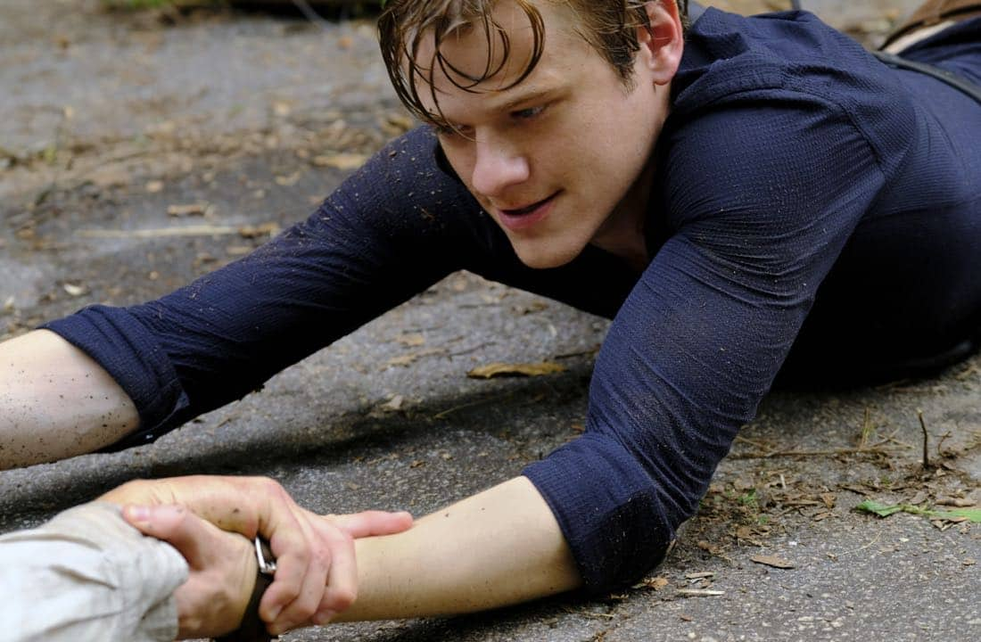 """""""DIY or DIE"""" -- Using a cell phone and soccer ball, MacGyver and the team must find a Navy SEAL, who is believed to be alive in captivity in the Middle East, on the second season premiere of MACGYVER, Friday, Sept. 29 (8:00-9:00 PM, ET/PT) on the CBS Television Network. Pictured: Lucas Till Photo: Guy D'Alema/CBS ©2017 CBS Broadcasting, Inc. All Rights Reserved"""