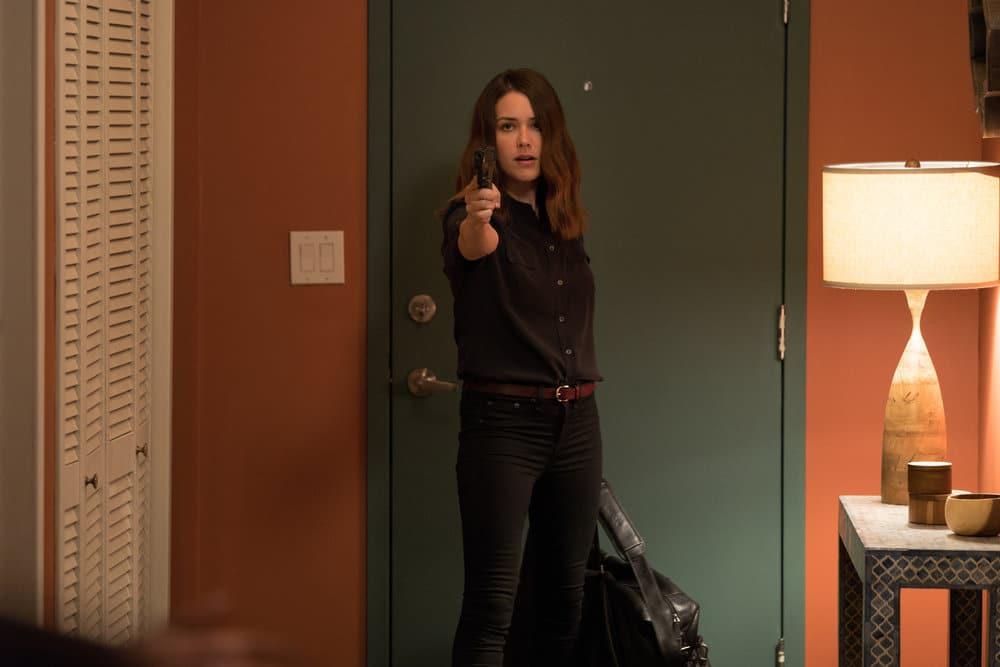 "THE BLACKLIST -- ""Smokey Putnam (#30)"" Episode 501 -- Pictured: Megan Boone as Elizabeth Keen -- (Photo by Michele K. Short/NBC)"