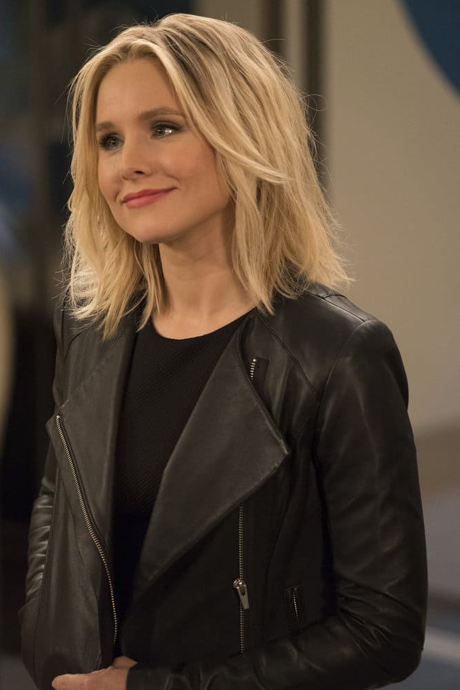 "THE GOOD PLACE -- ""Everything is Great!"" Episode 201 -- Pictured: Kristen Bell as Eleanor Shellstrop -- (Photo by: Colleen Hayes/NBC)"