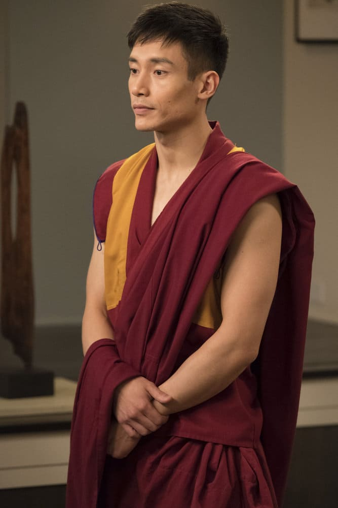 "THE GOOD PLACE -- ""Everything is Great!"" Episode 201 -- Pictured: Manny Jacinto as Jianyu -- (Photo by: Colleen Hayes/NBC)"