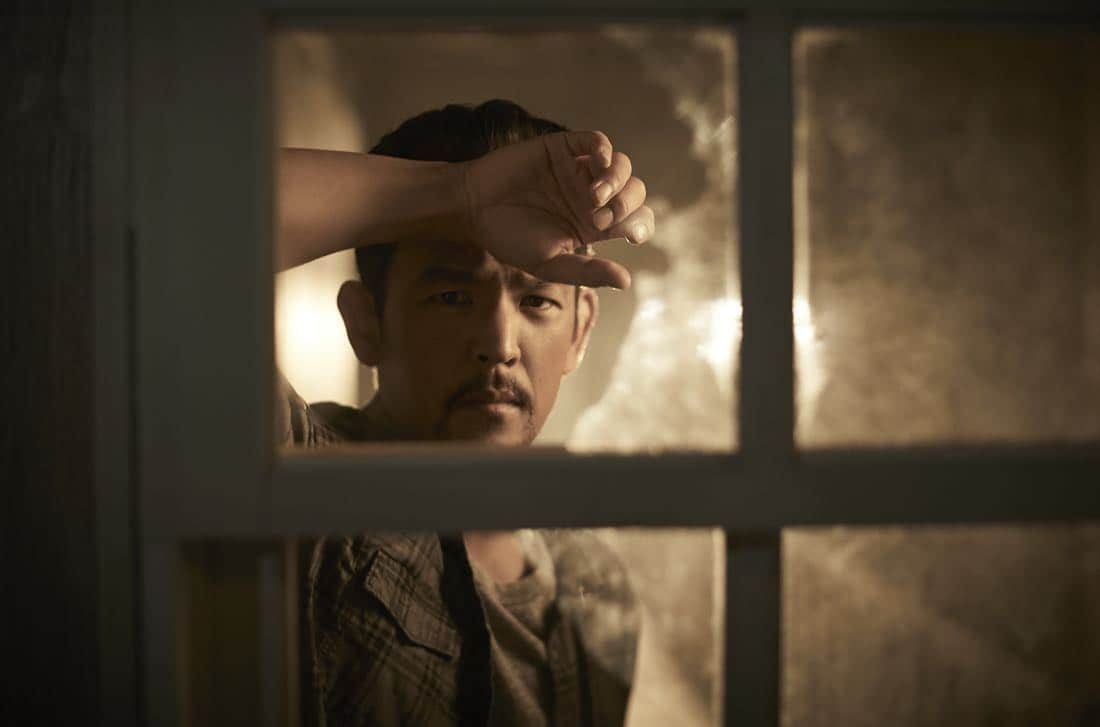 THE EXORCIST: John Cho as Andy Kim in THE EXORCIST premiering Friday, Sept. 29 (9:00-10:00 PM ET/PT) on FOX. ©2017 Fox Broadcasting Co. Cr: Mathieu Young/FOX