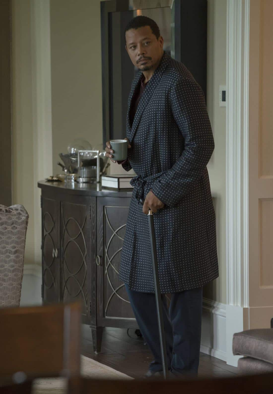"EMPIRE: Terrence Howard in the ""Noble Memory"" episode of EMPIRE premiering Wednesday, Sept. 27 (8:00-9:00 PM ET/PT) on FOX. ©2017 Fox Broadcasting Co. CR: Chuck Hodes/FOX"