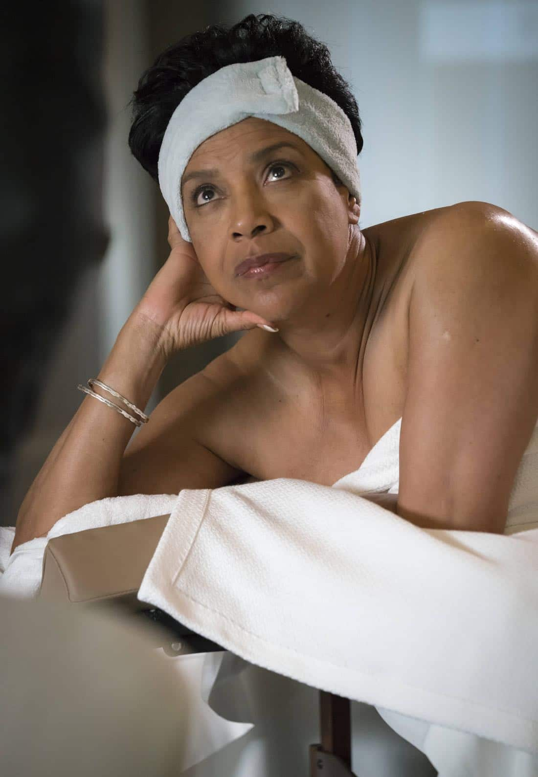 "EMPIRE: Guest star Phylicia Rashad in the ""Noble Memory"" episode of EMPIRE premiering Wednesday, Sept. 27 (8:00-9:00 PM ET/PT) on FOX. ©2017 Fox Broadcasting Co. CR: Chuck Hodes/FOX"