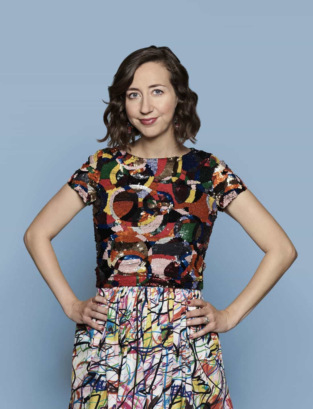 THE LAST MAN ON EARTH: Kristen Schaal as Carol Pilbasian Miller in the LAST MAN ON EARTH season four premiere Sunday, Oct. 1 (9:30-10:00 PM ET/PT) on FOX. ©2017 Fox Broadcasting Company. Cr: Pamela Littky/FOX