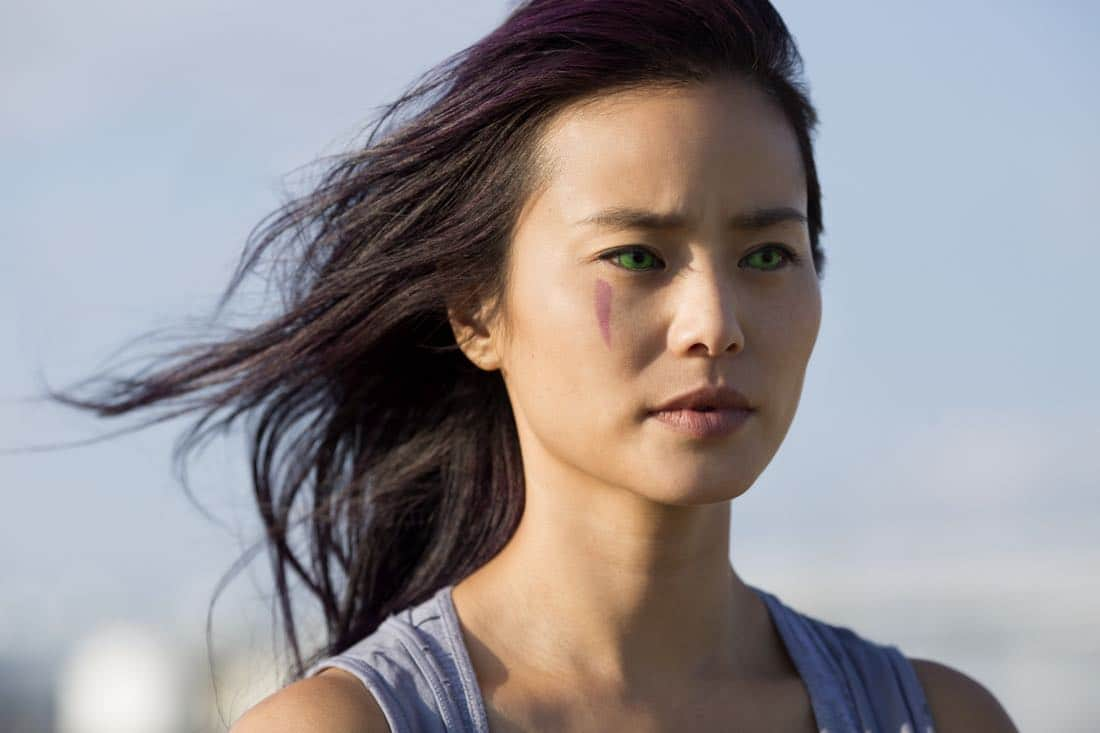 THE GIFTED: Jamie Chung as Blink/Clarice Fong aka Clarice Ferguson in THE GIFTED premiering premiering Monday, Oct. 2 (9:00-10:00 PM ET/PT) on FOX. ©2017 Fox Broadcasting Co. Cr: Ryan Green/FOX