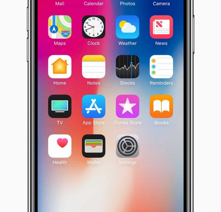 iphonex-front-homescreen