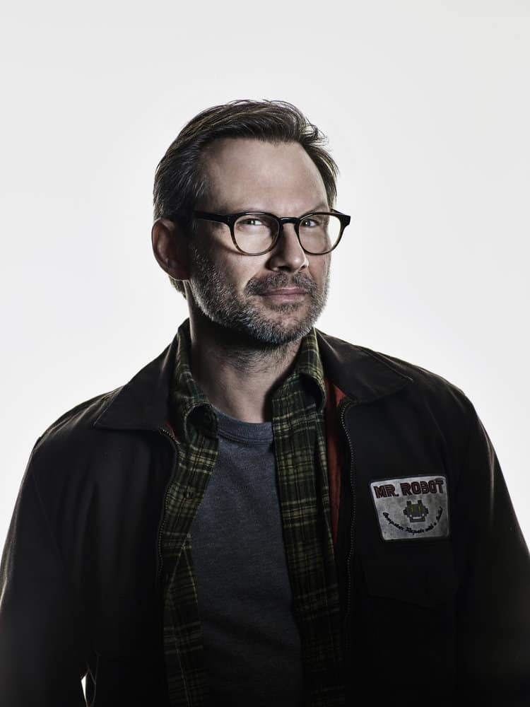 MR. ROBOT -- Season:3 -- Pictured: Christian Slater as Mr. Robot -- (Photo by: Nadav Kander/USA Network)