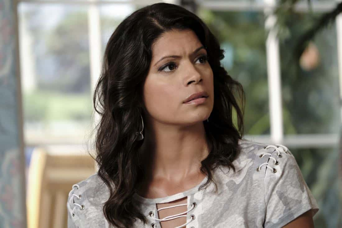 "Jane The Virgin -- ""Chapter Sixty-Five"" -- Image Number: JAV401b_0064.jpg -- Pictured: Andrea Navedo as Xo -- Photo: Eddy Chen/The CW -- © 2017 The CW Network, LLC. All Rights Reserved."