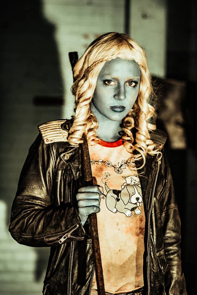 Z NATION -- Season:4 -- Pictured: Tara Holt as Lucy -- (Photo by: Daniel Sawyer Schaefer/Go2 Z 4/Syfy)