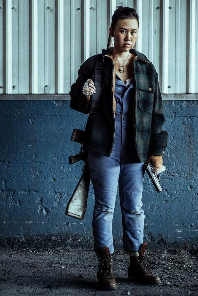 Z NATION -- Season:4 -- Pictured: Ramona Young as Kaya -- (Photo by: Daniel Sawyer Schaefer/Go2 Z 4/Syfy)