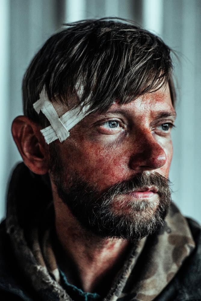 Z NATION -- Season:4 -- Pictured: DJ Qualls as Citizen Z -- (Photo by: Daniel Sawyer Schaefer/Go2 Z 4/Syfy)