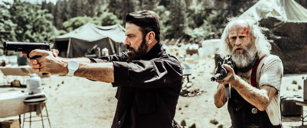 Z NATION -- Season:4 -- Pictured: (l-r) Keith Allan as Murphy, Russell Hodgkinson as Doc -- (Photo by: Daniel Sawyer Schaefer/Go2 Z 4/Syfy)