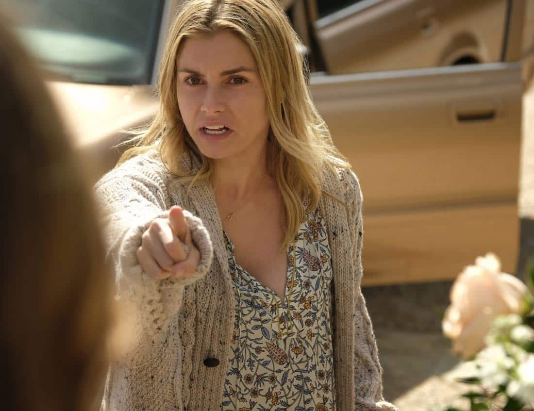 """Dynasty -- """"Pilot"""" Pictured: Brianna Brown as Claudia -- Photo: Mark Hill/The CW © 2017 The CW Network, LLC. All Rights Reserved."""