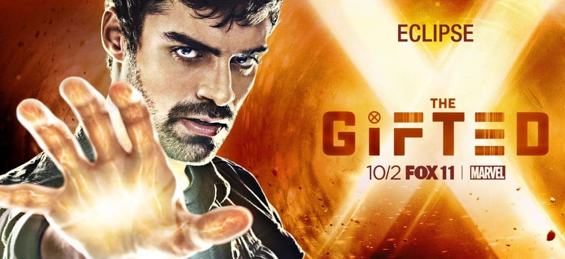 The Gifted Character Poster - Eclipse