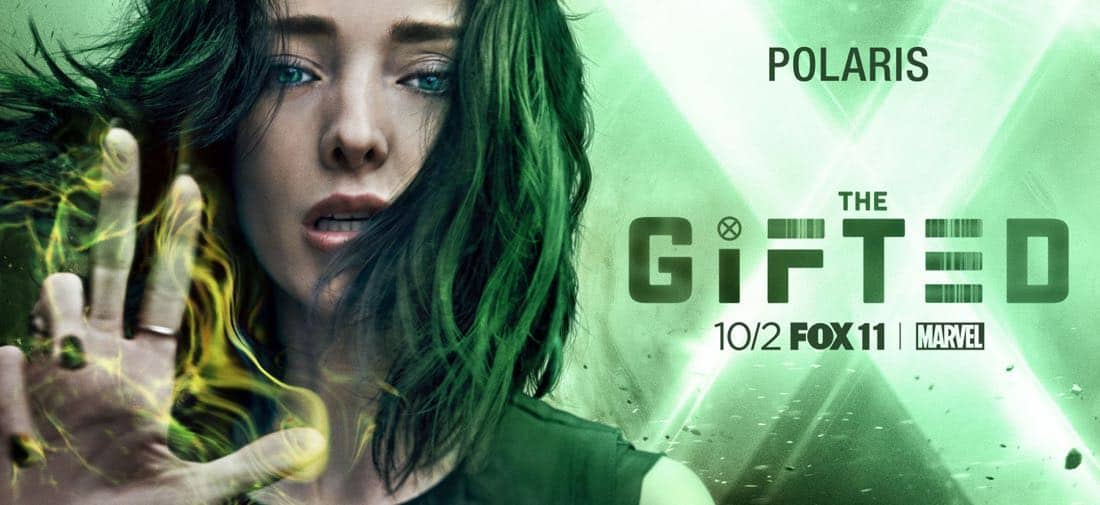 The Gifted Character Poster - Polaris