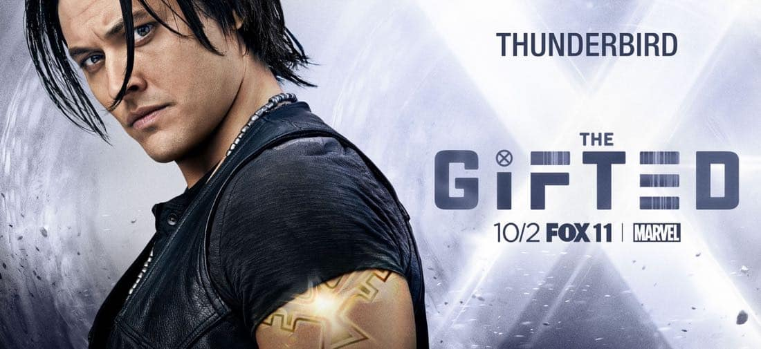 The Gifted Character Poster - Thunderbird