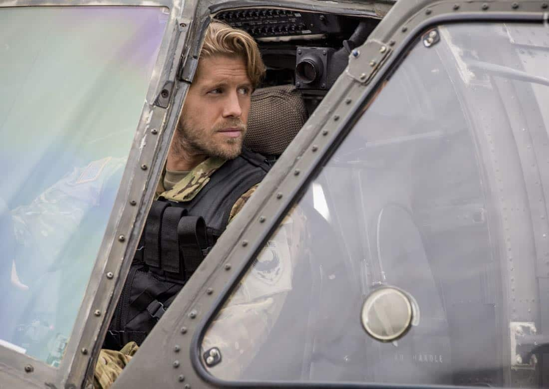 "Valor -- ""Pilot"" -- Pictured (L-R): Matt Barr as Gallo -- Credit: Erika Doss/The CW © 2017 The CW Network, LLC. All Rights Reserved"