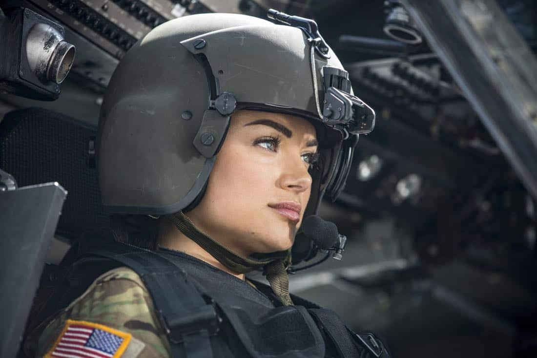 "Valor -- ""Pilot"" -- Pictured: Christina Ochoa as Nora -- Credit: Erika Doss/The CW © 2017 The CW Network, LLC. All Rights Reserved"