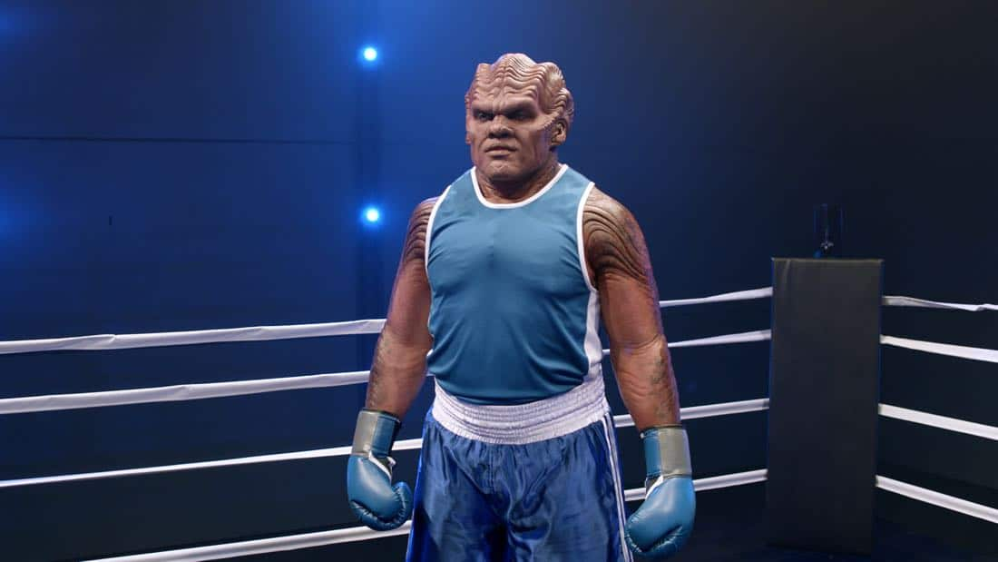 """THE ORVILLE: L-R: Peter Macon in the """"About a Girl"""" time period premiere episode of THE ORVILLE airing Thursday, Sept. 21 (9:00-10:00 PM ET/PT) on FOX. ©2017 Fox Broadcasting Co. Cr: Michael Becker/FOX."""