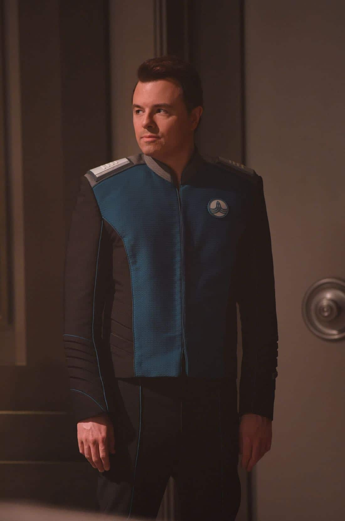 """THE ORVILLE: Seth MacFarlane in the """"About a Girl"""" episode of THE ORVILLE airing Thursday, Sept. 21 (9:00-10:00 PM ET/PT) on FOX. ©2017 Fox Broadcasting Co. Cr: Jordin Althaus/FOX"""