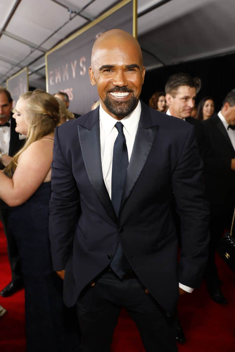 Shemar Moore of S.W.A.T arrives at the 69TH PRIMETIME EMMY AWARDS, LIVE from the Microsoft Theater in Los Angeles Sunday, Sept. 17 (8:00-11:00 PM, live ET/5:00-8:00 PM live PT) on the CBS Television Network.   Photo: Trae Patton/CBS ©2017 CBS Broadcasting, Inc. All Rights Reserved.