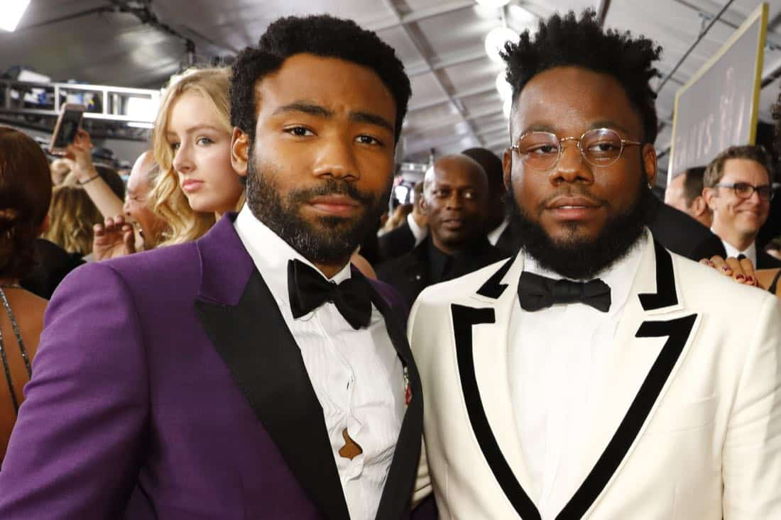 Donald Glover, Stephen Glover at the 69TH PRIMETIME EMMY AWARDS, LIVE from the Microsoft Theater in Los Angeles Sunday, Sept. 17 (8:00-11:00 PM, live ET/5:00-8:00 PM live PT) on the CBS Television Network.   Photo: Trae Patton/CBS ©2017 CBS Broadcasting, Inc. All Rights Reserved.