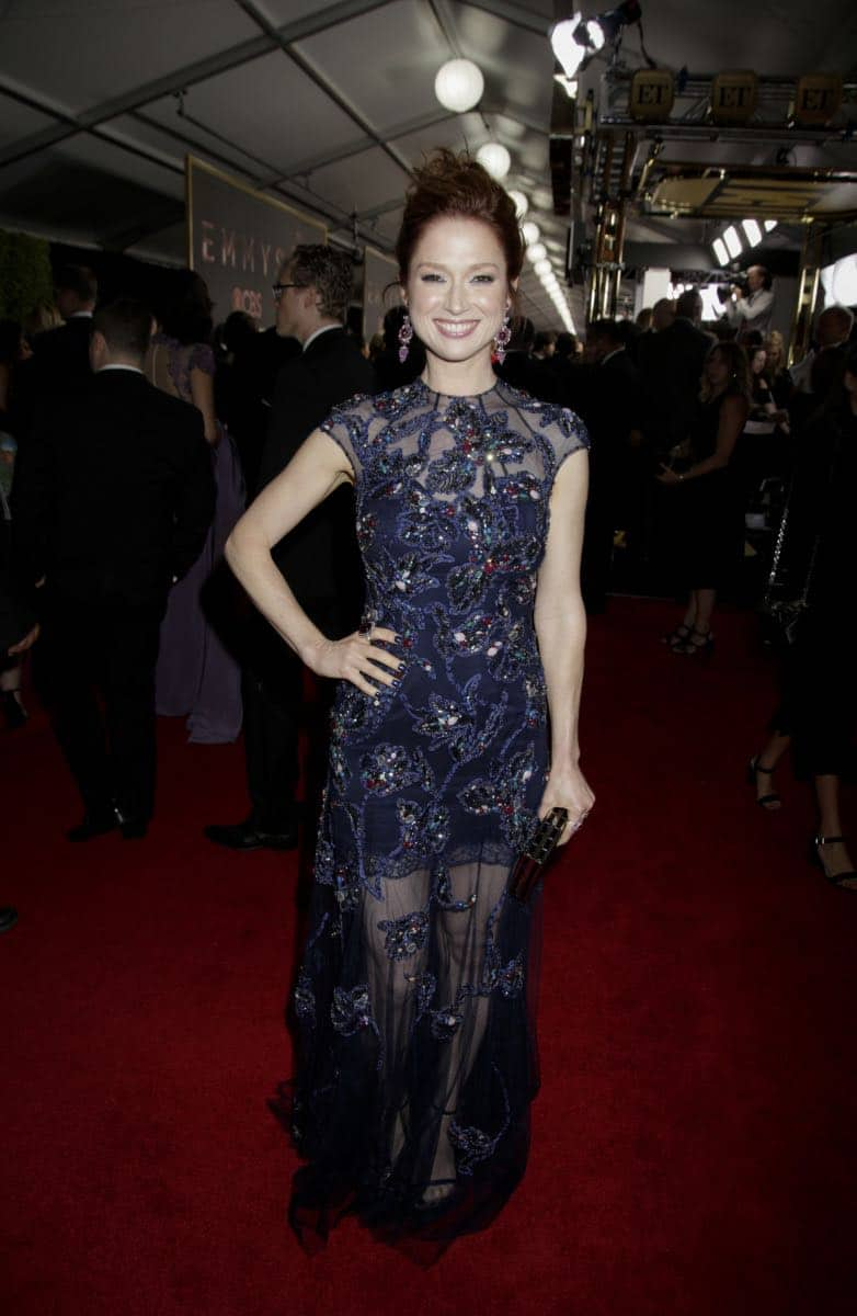 Ellie Kemper on the Red Carpet at the 69TH PRIMETIME EMMY AWARDS, LIVE from the Microsoft Theater in Los Angeles Sunday, Sept. 17 (8:00-11:00 PM, live ET/5:00-8:00 PM live PT) on the CBS Television Network.   Photo: Francis Specker/CBS ©2017 CBS Broadcasting, Inc. All Rights Reserved.