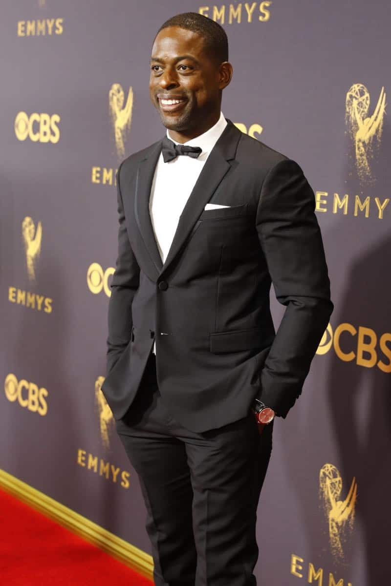 Sterling K. Brown arrives at the 69TH PRIMETIME EMMY AWARDS, LIVE from the Microsoft Theater in Los Angeles Sunday, Sept. 17 (8:00-11:00 PM, live ET/5:00-8:00 PM live PT) on the CBS Television Network.   Photo: Trae Patton/CBS ©2017 CBS Broadcasting, Inc. All Rights Reserved.