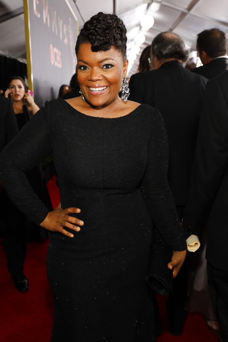 Yvette Nicole Brown arrives at the 69TH PRIMETIME EMMY AWARDS, LIVE from the Microsoft Theater in Los Angeles Sunday, Sept. 17 (8:00-11:00 PM, live ET/5:00-8:00 PM live PT) on the CBS Television Network.   Photo: Trae Patton/CBS ©2017 CBS Broadcasting, Inc. All Rights Reserved.