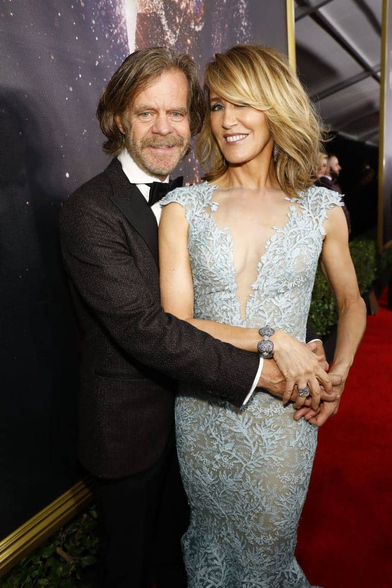 William H. Macy and Felicity Huffman arrive at the 69TH PRIMETIME EMMY AWARDS, LIVE from the Microsoft Theater in Los Angeles Sunday, Sept. 17 (8:00-11:00 PM, live ET/5:00-8:00 PM live PT) on the CBS Television Network.   Photo: Trae Patton/CBS ©2017 CBS Broadcasting, Inc. All Rights Reserved.
