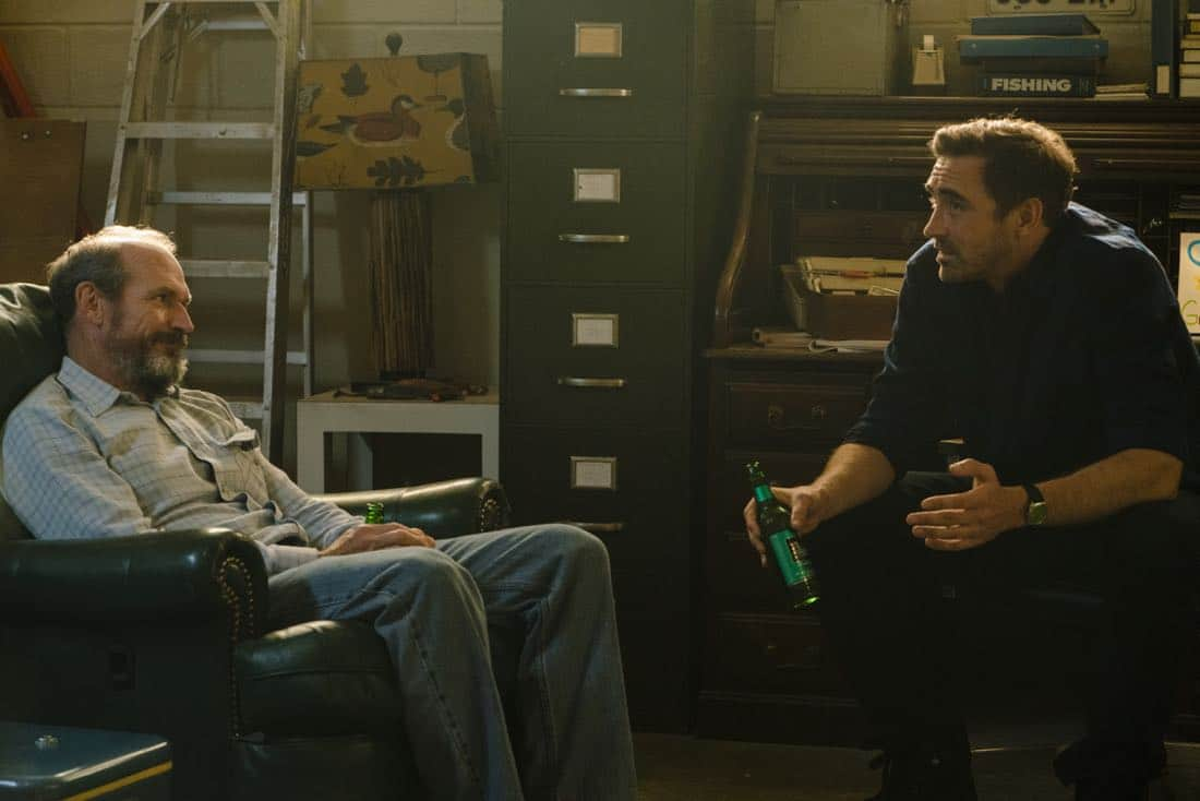 oby Huss as John Bosworth, Lee Pace as Joe MacMillan - Halt and Catch Fire _ Season 4, Episode 6 - Photo Credit: Tina Rowden/AMC