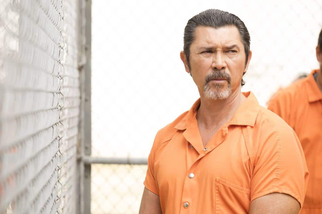 "BROOKLYN NINE-NINE: Guest star Lou Diamond Phillips in the ""The Big House Pt.1"" Season Five premiere episode of BROOKLYN NINE-NINE airing Tuesday, Sept. 26 (9:30-10:00 PM ET/PT) on FOX.  CR: John P Fleenor / FOX"