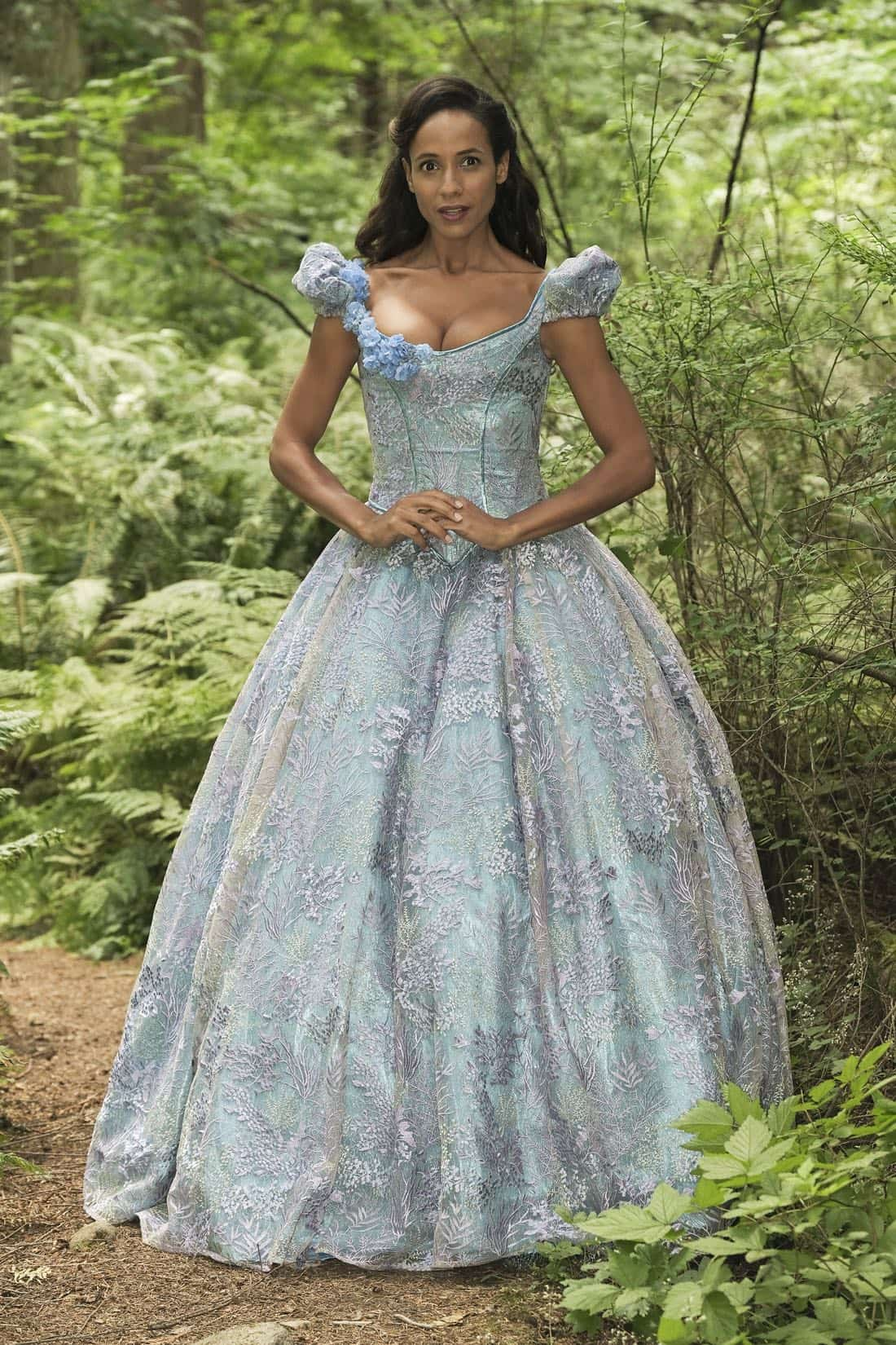 "ONCE UPON A TIME - ABC's ""Once Upon A Time"" stars Dania Ramirez as Cinderella. (ABC/Eike Schroter)"