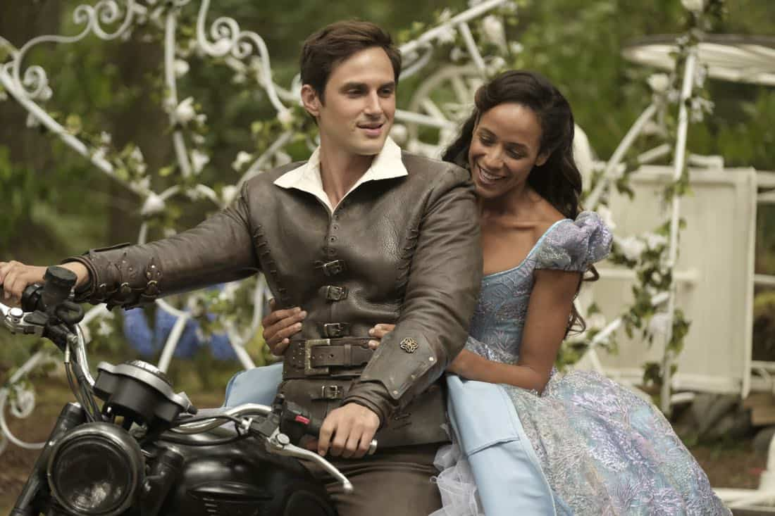 "ONCE UPON A TIME - ""Hyperion Heights"" - As ""Once Upon a Time"" returns to ABC for its seventh season, FRIDAY, OCTOBER 6 (8:00-9:00 p.m. EDT), on the ABC Television Network, the residents of the enchanted forest face their greatest challenge yet as the Evil Queen, Captain Hook and Rumpelstiltskin join forces with a grown-up Henry Mills and his daughter Lucy on an epic quest to bring hope to their world and ours. (ABC/Eike Schroter) ANDREW J. WEST, DANIA RAMIREZ"