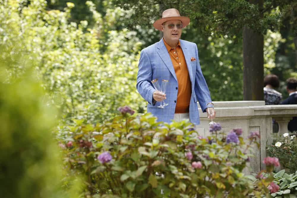 """THE BLACKLIST -- """"Greyson Blaise"""" Episode 502 -- Pictured: James Spader as Raymond """"Red"""" Reddington -- (Photo by: Will Hart/NBC)"""